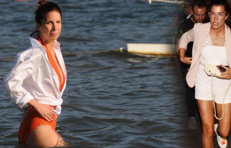 """Deniz Akkaya, Tuğba Özerk'e tepki gösterdi: """"O kadının sorunları var"""""""