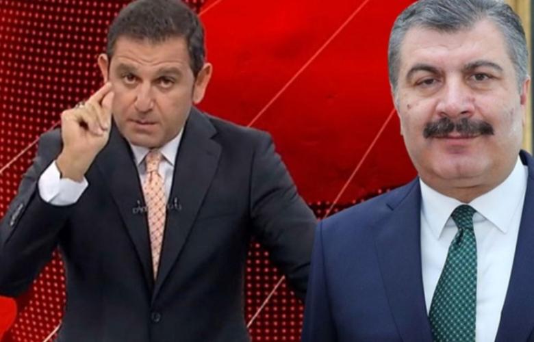 Fatih Portakal'dan Fahrettin Koca'ya tepki: 'Önce bu işi layıkıyla temizleyin...'