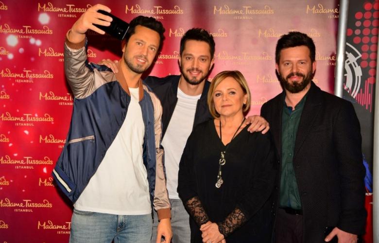 Madame Tussauds İstanbul'un yeni üyesi  Murat Boz