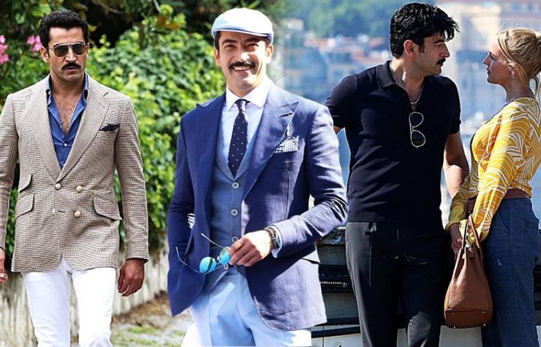 """Başrollerini Kenan İmirzalıoğlu ve Meryem Uzerli'nin paylaştığı """"Cingöz Recai"""" filminden ilk kareler..."""
