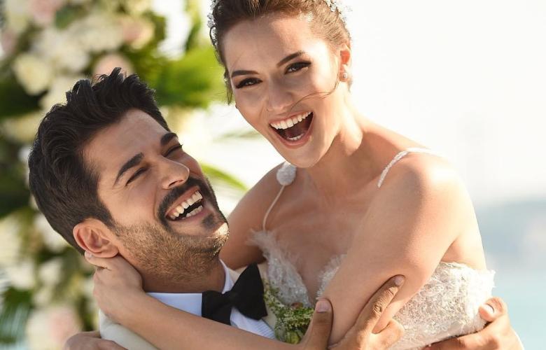 Burak Özçivit, düğün fotoğrafını paylaştı! O fotoğrafa rekor beğeni ve yorum geldi!