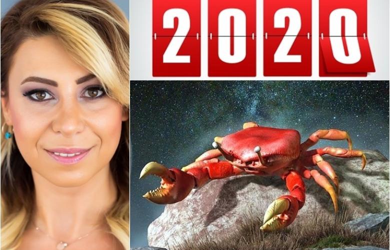 Yengeç Burçlarını 2020 yılında neler bekliyor? Yengeçlerin 2020 yılı analizi Astrolog Sema Sidar'dan.