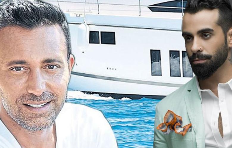 Mustafa Sandal ve Gökhan Türkmen tekne kazası geçirdi!