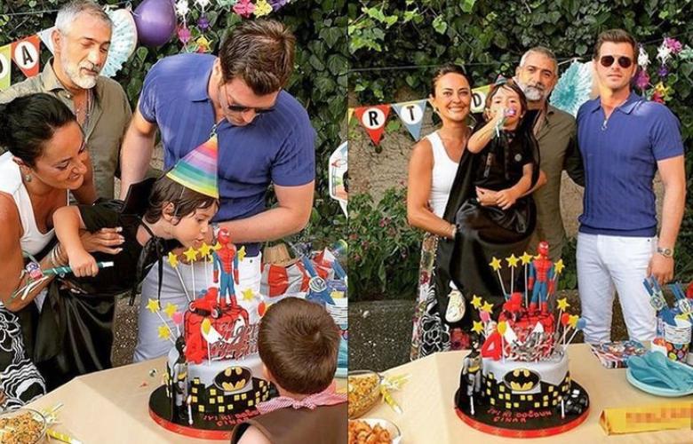 Kıvanç Tatlıtuğ yeğeninin yeni yaşını kutladı