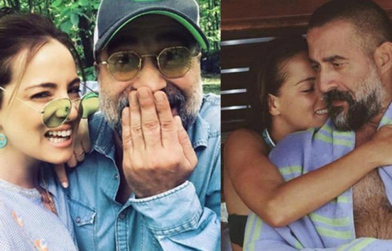 """Doğa Rutkay'dan eşi Kerimcan Kamal'a: """"Bana hep sevildiğimi hissettirdiğin için teşekkürler"""""""