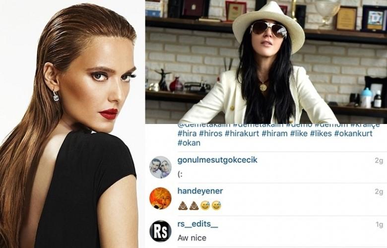 """Hande Yener, Demet Akalın'ın kızının olduğu fotoğrafın altına bıraktığı """"b.k"""" imojisiyle ilgili ilk kez konuştu!"""