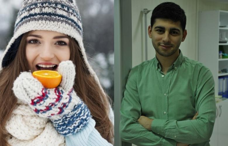 """Diyetisyen Ahmet Akbulut'tan """"kış aylarında"""" beslenme listesi!"""