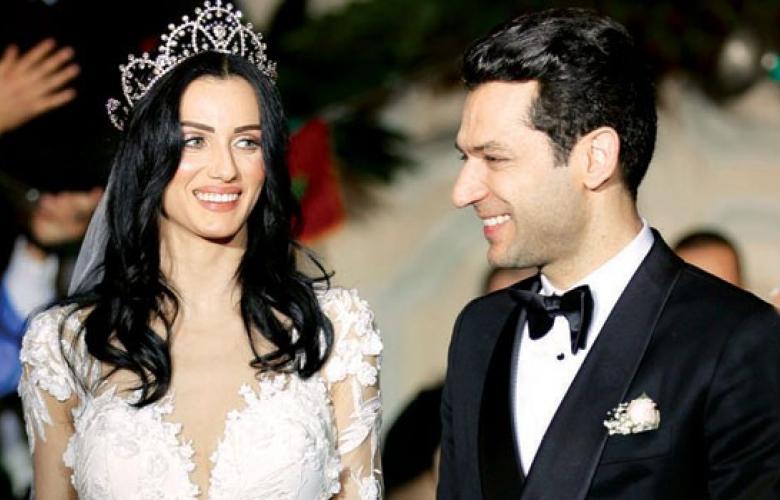 Murat Yıldırım ve İman El-Bani Fas'ta ikinci düğünlerini yaptı...