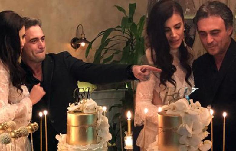 Kutsi ve oyuncu sevgilisi Feyza Çıpa nişanlandı