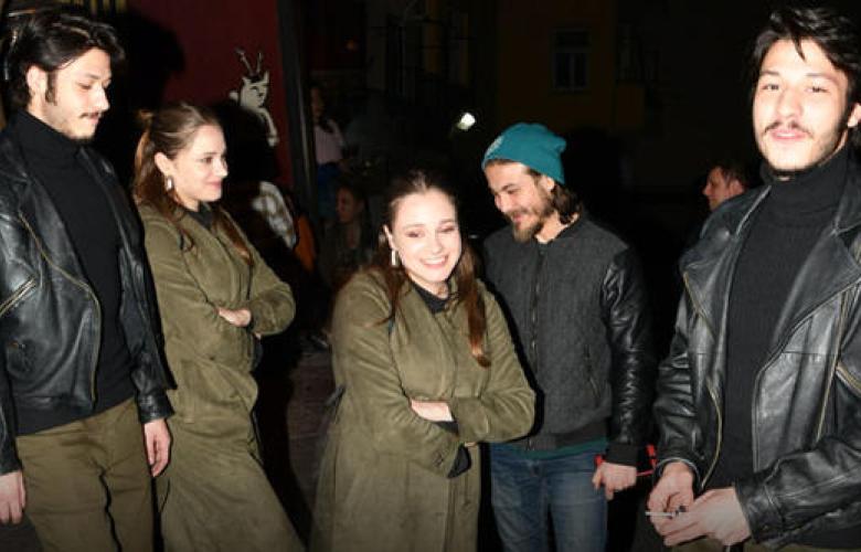 Kubilay Aka ile Miray Daner birlikte eğlendi