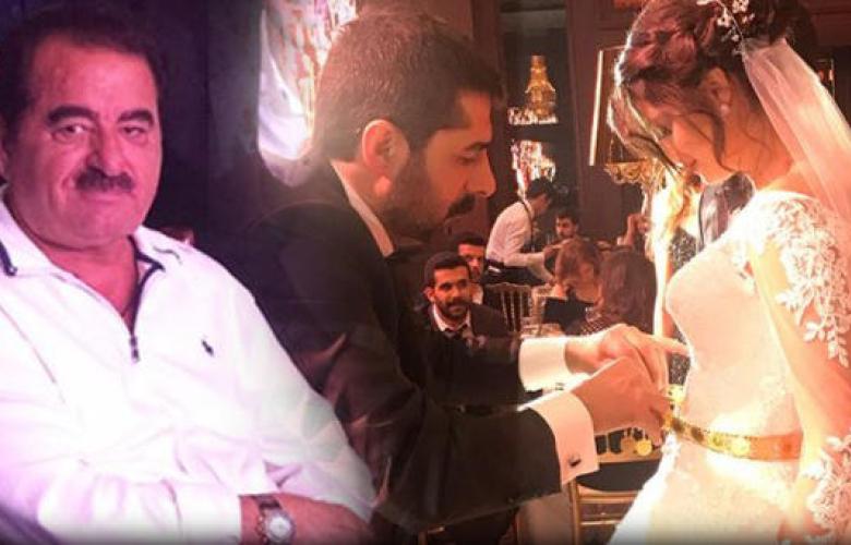 İbrahim Tatlıses torununu evlendirdi... Geline altın kemer!