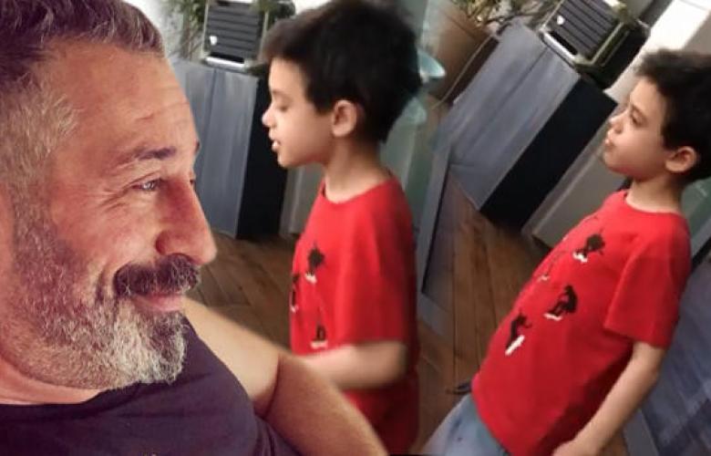 Cem Yılmaz'ın oğlunun dansı sosyal medyada olay oldu... Mansur Ark geri döndü!