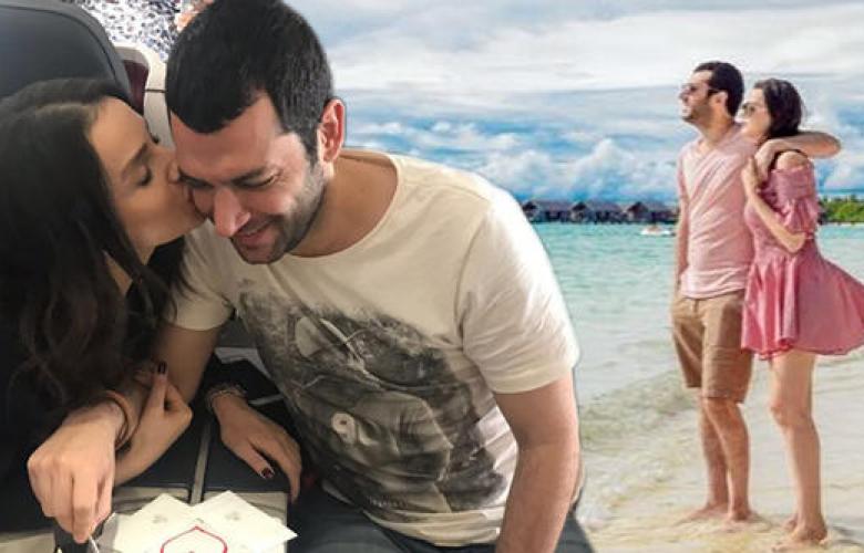 Murat Yıldırım'ın 39. yaş kutlaması uçakta başladı, Maldivler'de devam etti