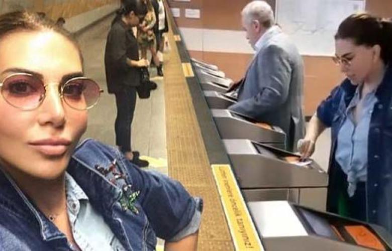 """Ebru Yaşar: """"Yaşasın metro!"""""""