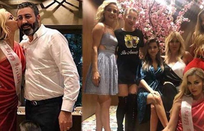 Petek Dinçöz'e sürpriz parti
