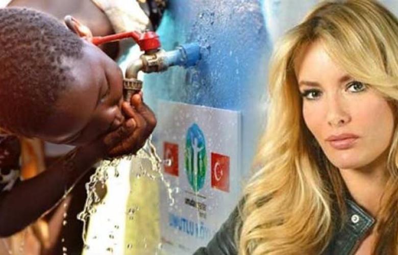 Gamze Özçelik, Afrika'da açtığı su kuyularına şehit isimlerini verdi