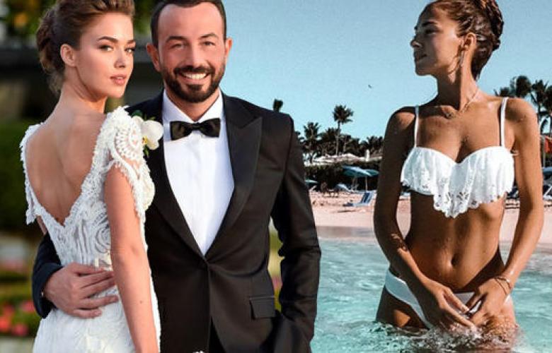 29 Eylül'de Hakan Baş'la evlenen Bensu Soral, balayından ilk fotoğrafı paylaştı.