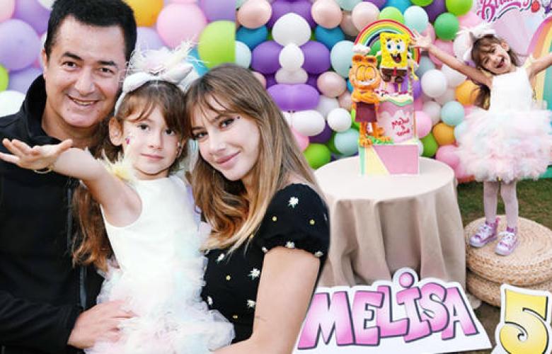 Acun-Şeyma Ilıcalı'nın kızları Melisa 5 yaşına bastı.