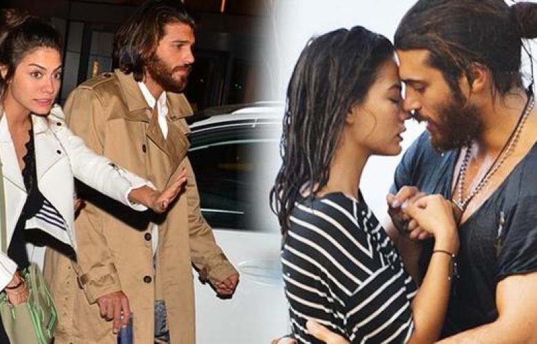 Demet Özdemir & Can Yaman. Aşk yaşadıkları konuşuluyordu, önceki gece birlikte görüntülendiler...