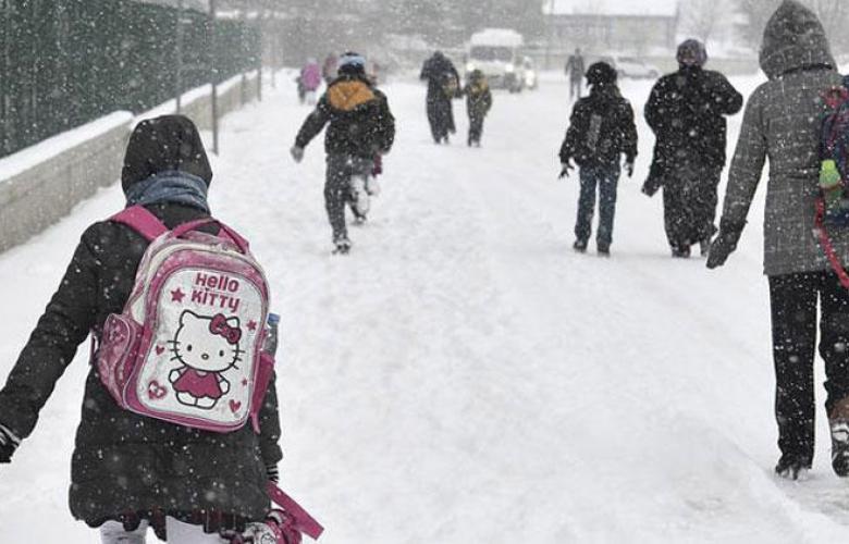 Yarın okullar tatil mi? İşte yoğun kar yağışı nedeniyle okulların tatil edildiği iller