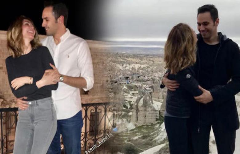 Demet Şener ile Cenk Küpeli'den romantik tatil!