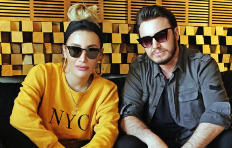 İrem Derici ve Mustafa Ceceli stüdyo'da!