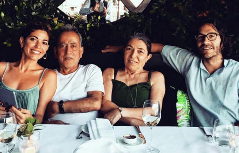 Ünlü oyuncunun ailesi, damatlarının ailesi için dil kursuna gitti