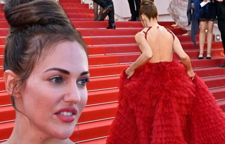 Meryem Uzerli kırmızı halıda!