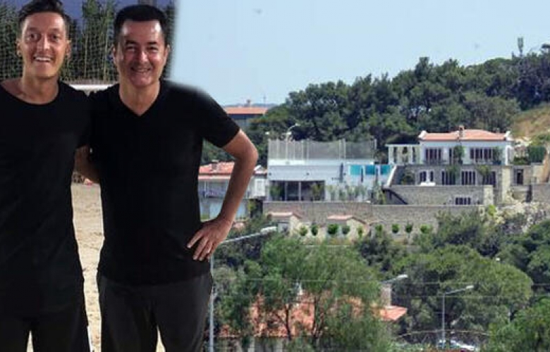 Acun Ilıcalı'ya komşu oldu! İşte Mesut Özil'in villası...