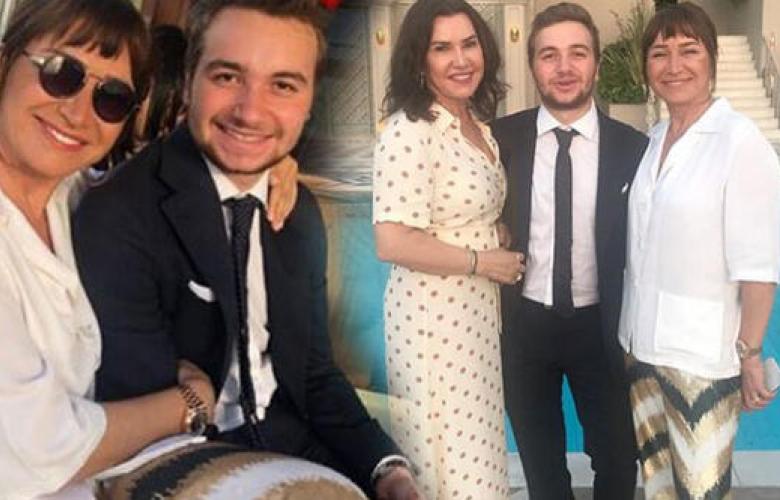 Demet Akbağ'ın oğlu Ali mezun oldu