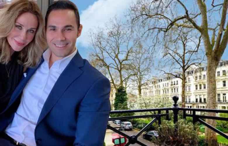 Cenk Küpeli-Demet Şener çifti, 12 milyona Londra'da ev aldılar!