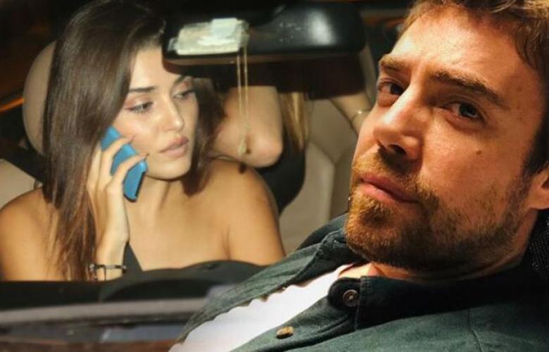 Hande Erçel çevirmeye takılınca sevgilisi Murat Dalkılıç'ı aradı
