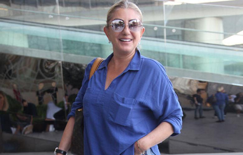 Muazzez Ersoy Harbiye konseri için tatilden döndü