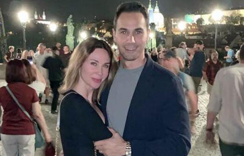 Demet Şener ve Cenk Küpeli'den Prag'da romantik kutlama