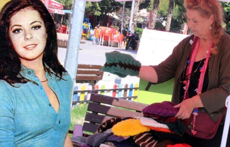 Yeşilçam'ın güzeli Fatma Belgen pazarda bere satıyor