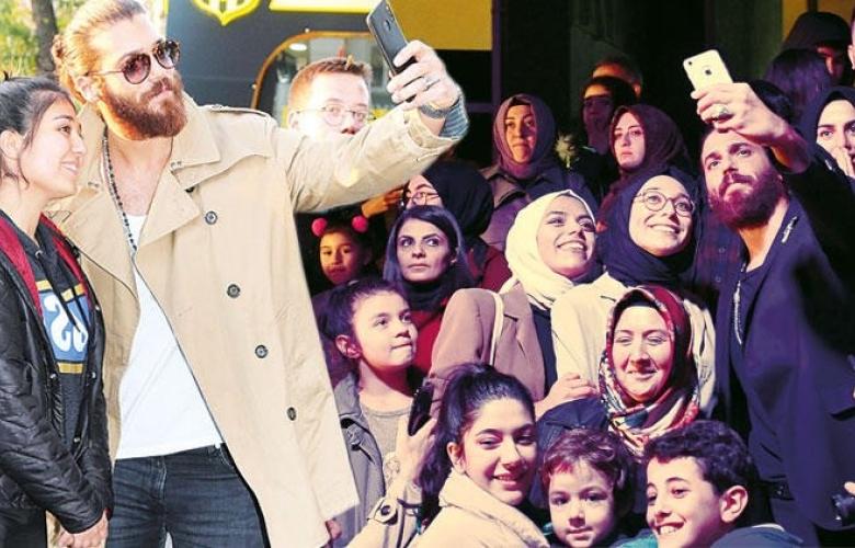 Malatya'da Can Yaman çılgınlığı