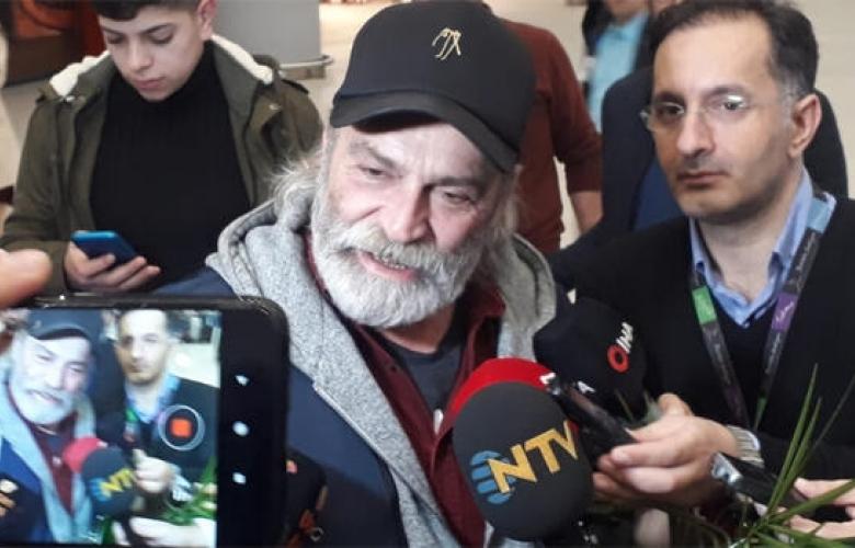 Emmy Ödüllü Haluk Bilginer İstanbul'da! İşte ilk sözleri...