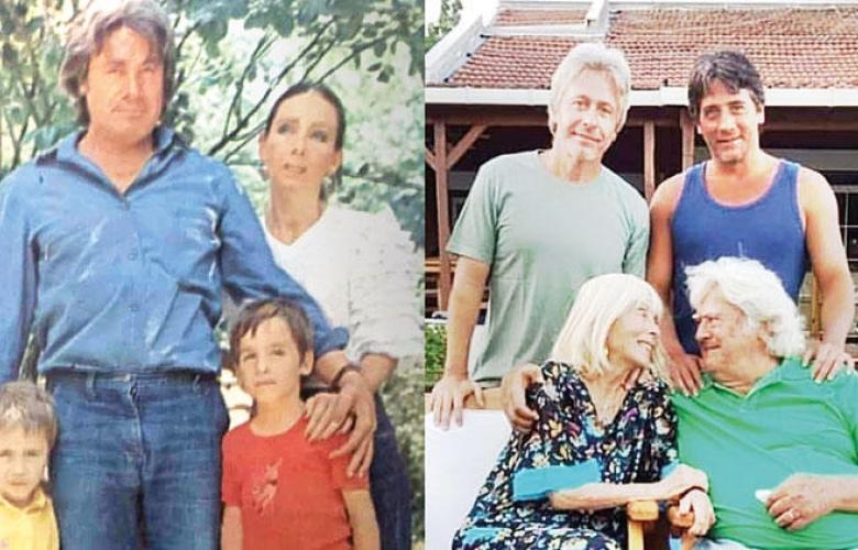 """Murat Arkın'dan """"40 yıl önce 40 yıl sonra"""" paylaşımı"""