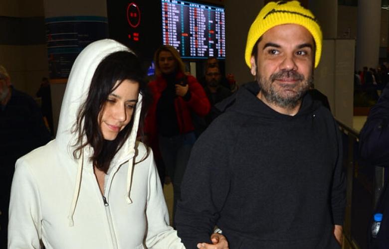 Beren Saat ve eşi Kenan Doğulu, Türkiye'ye döndü
