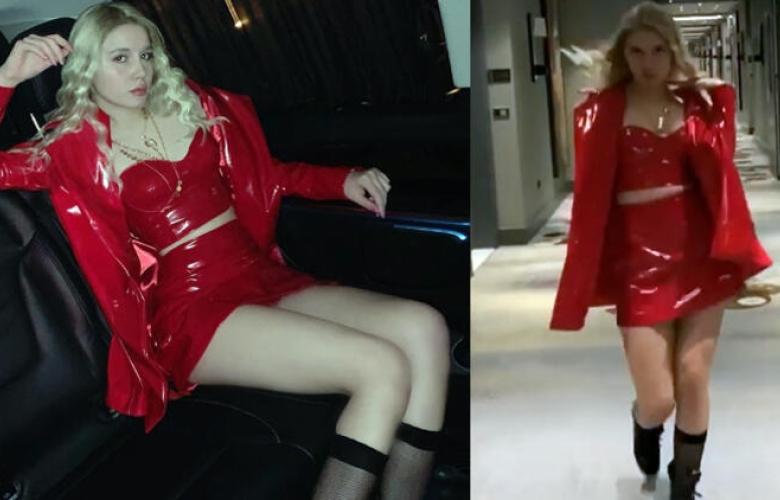 Aleyna Tilki'yi görümcesi giydirdi!