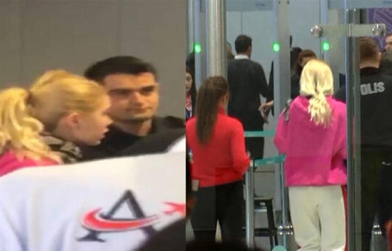 Aleyna Tilki havalimanında olay çıkardı... İlk açıklama