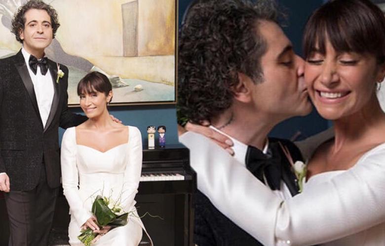 """Sıla ile Hazer Amani evlendi! Kendi evinde """"Evet"""" dedi"""