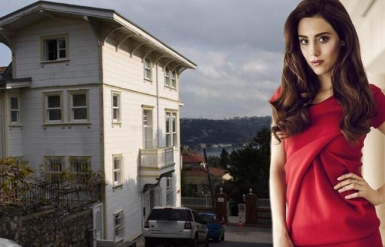 Boğaz'a nazır 4 katlı villa... İşte Cansu Dere'nin yeni evi