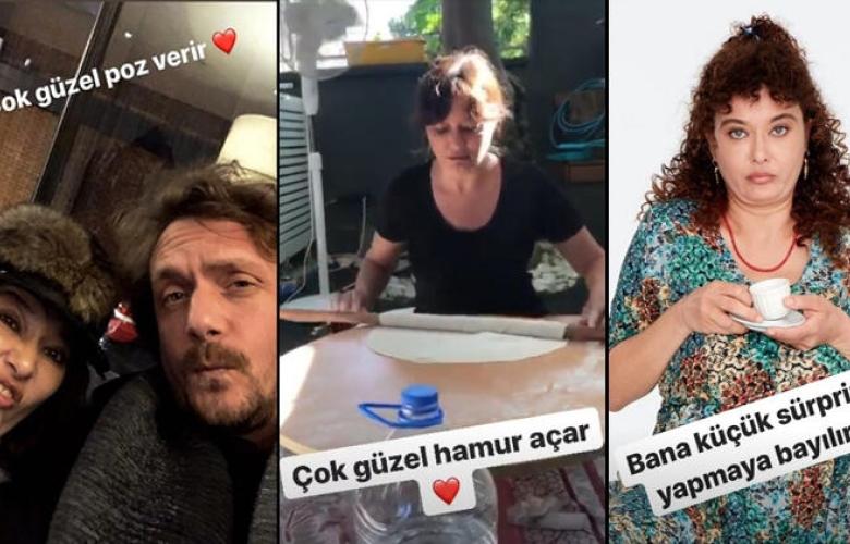 """Necati Kocabay'dan Nurgül Yeşilçay'a romantik kutlama: """"Bundan 2 yıl önce hayatımın aşkıyla tanıştım"""""""
