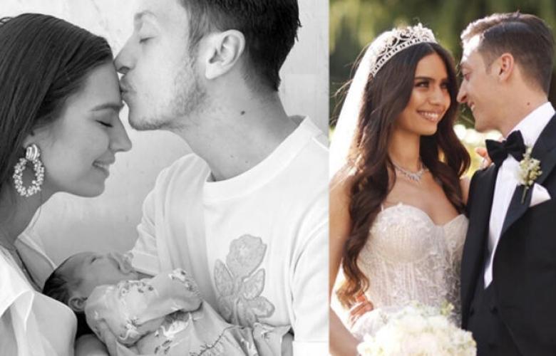 Mesut Özil ve eşi Amine Gülşe'nin kızları Eda'ya 5 milyonluk reklam teklifi