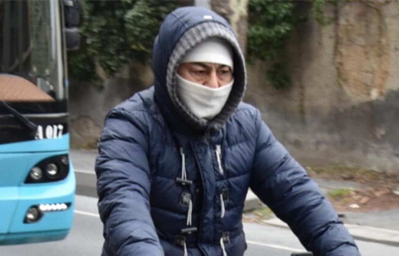 Bisiklet sürerken görüntülendi