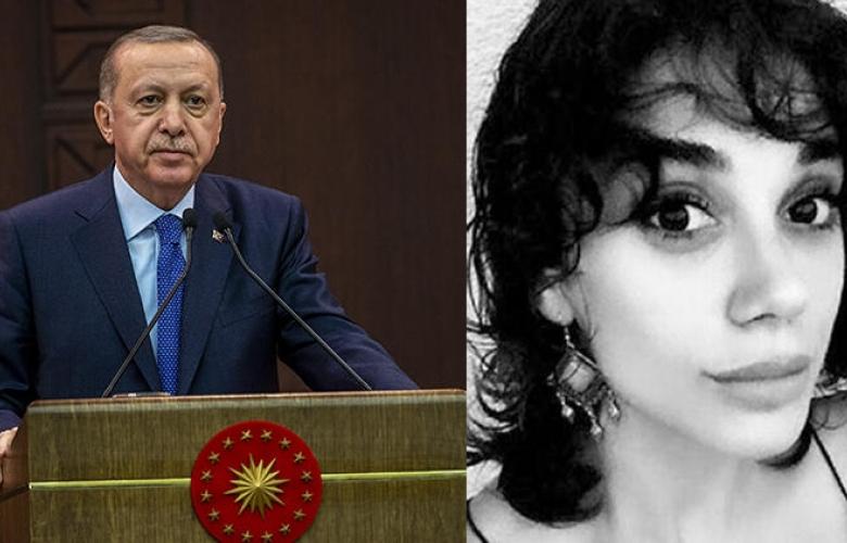 Cumhurbaşkanı Erdoğan'dan Pınar Gültekin açıklaması
