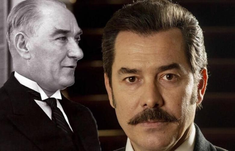 Atatürk rolü Fikret Kuşkan'ın