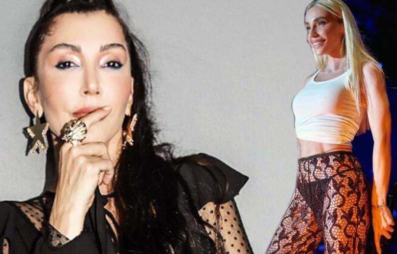 """Hande Yener'den Gülşen'e: """"Poposu güzel giyiyor, ne yapsın?"""""""