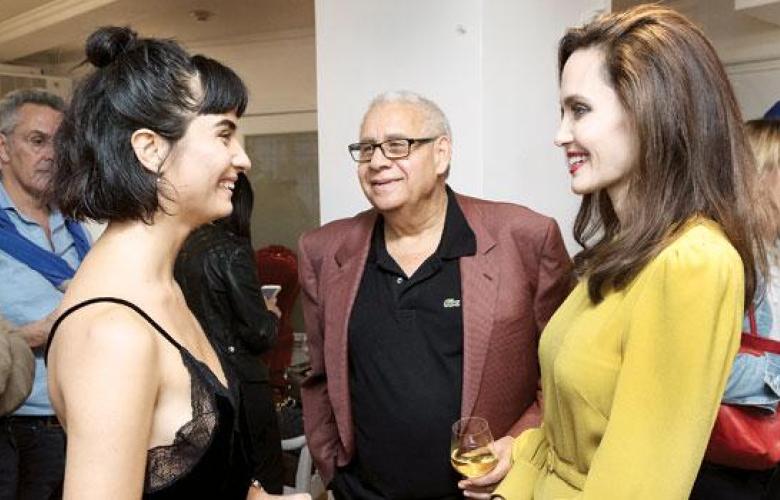 Angelina Jolie ile Tuba Büyüküstün'ün Los Angeles buluşması